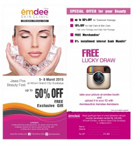 Special Offer for Your Beauty
