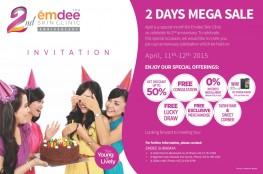 2 Days Mega Sale