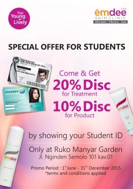 Student Card Promo