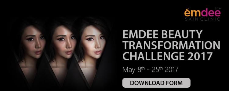 EMDEE BEAUTY TRANSFORMATION CHALLENGE 2017