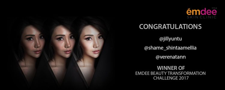 The Chosen Participants of Emdee Beauty Transformation Challenge 2017